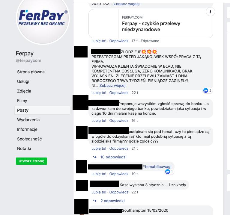 Ferpay facebook