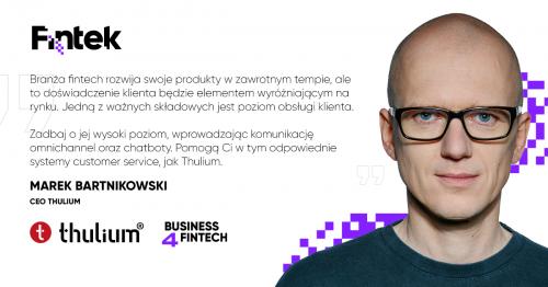 Marek Bartnikowski, CEO Thulium